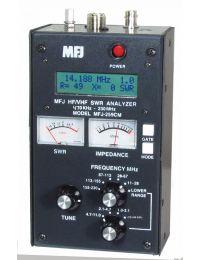 MFJ-256CM Antenna Analyzer 1-230 MHZ HF/VHF/220 MHZ,470-940KHZ,