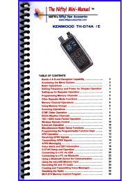 TH-D74A Mini-Manual